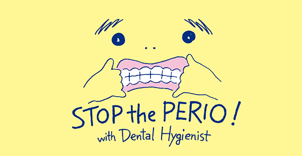 STOP the PERIO ! のロゴ